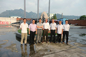 The leaders of DEFOND Company visited our company